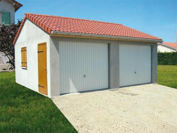 prix garage 20m2 en parpaing