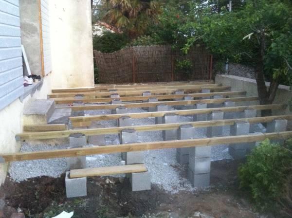 prix construction terrasse bois piscine