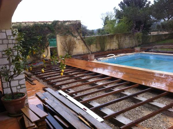 prix m2 terrasse bois posée