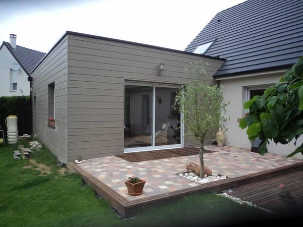 maison en bois plain pied prix