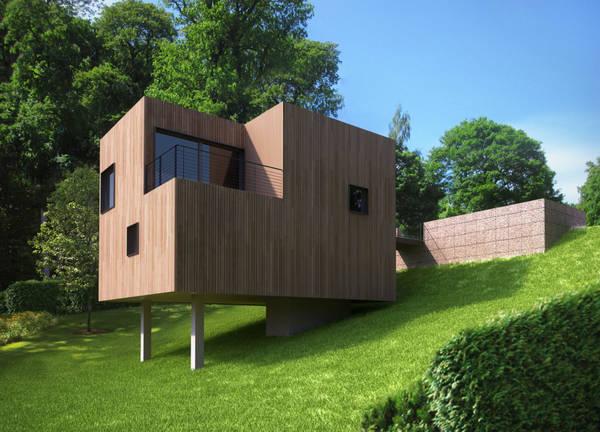 prix maison en bois 100m2
